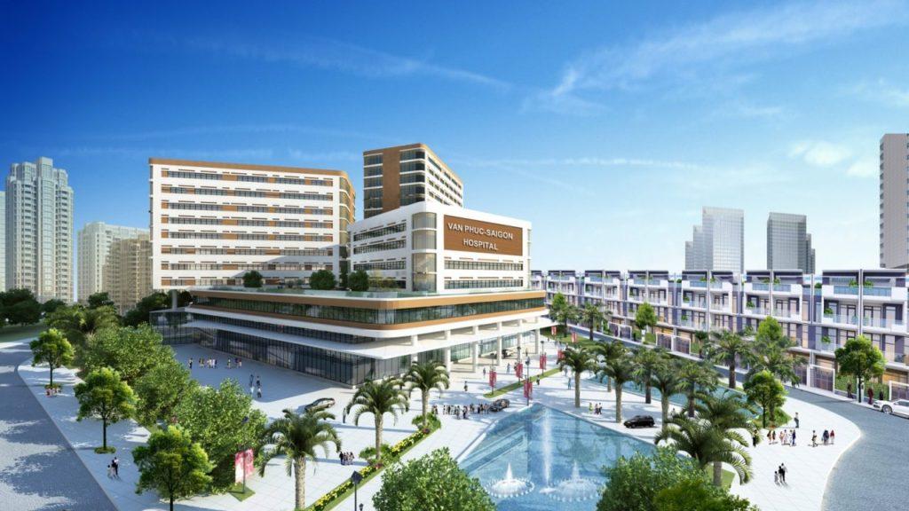 Bệnh viện Vạn Phúc Sài Gòn quy mô lên tới 500 giường.