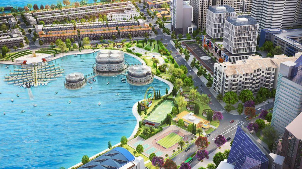 Hồ cảnh quan Khu đô thị Vạn Phúc