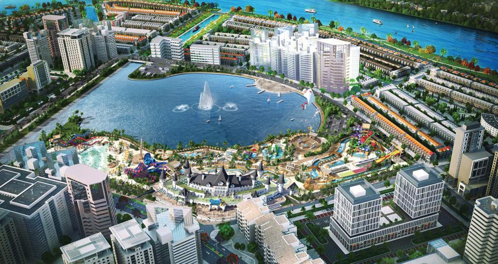 Công viên nước Ocean World Sài Gòn tại Khu đô thị Vạn Phúc