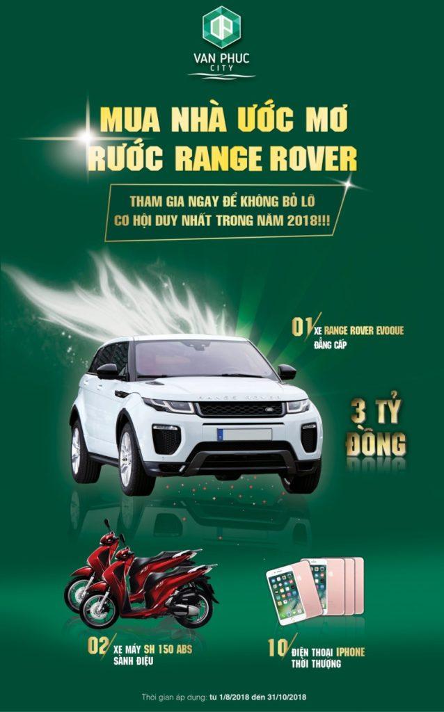 Bốc thăm Range Rover