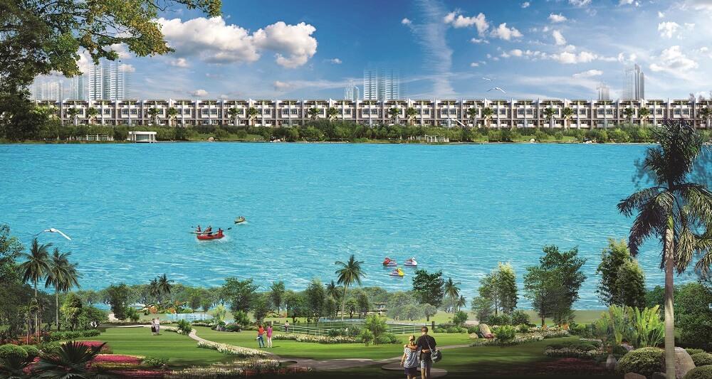 Công viên Ven hồ cảnh quan 21,5 ha tại Khu đô thị Vạn Phúc