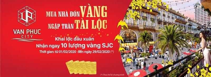 Van Phuc City trien khai chuong trinh uu dai khai loc dau xuan